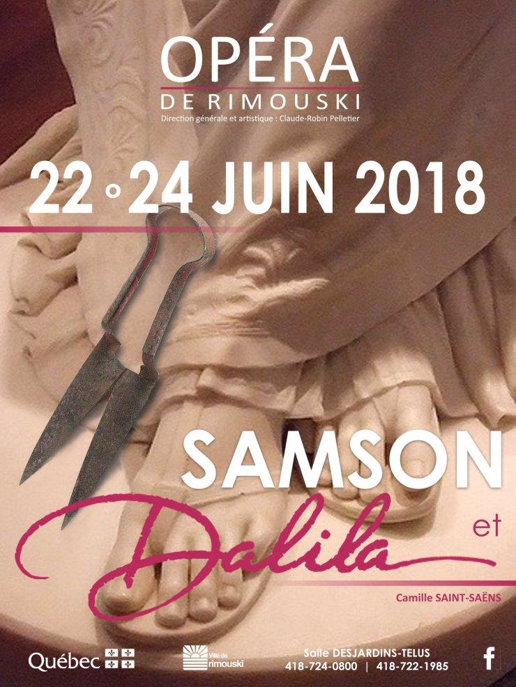 Affiche Samson Rimouski