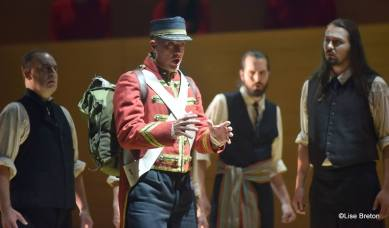 André Nault, Louis Riel, Festival d'opéra de Québec, 2017